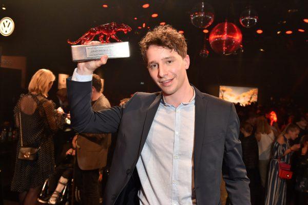 Preisträger Jonathan Berlin / Bester Schauspieler  Bunte New Faces Award Film 2018 im Spindler & Klatt in Berlin am 26.04.2018 Foto: BrauerPhotos / G.Nitschke for Hubert Burda Media